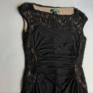 Ralph Lauren Lace Detailed Dress